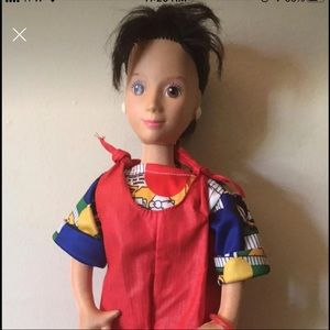 Mattel Hot Looks Stacy Doll 80's